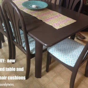 do it yourself table and chairs