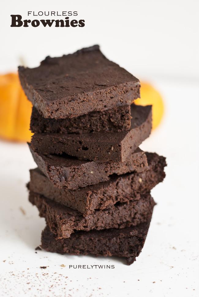 fudgy flourless chocolate brownie recipe