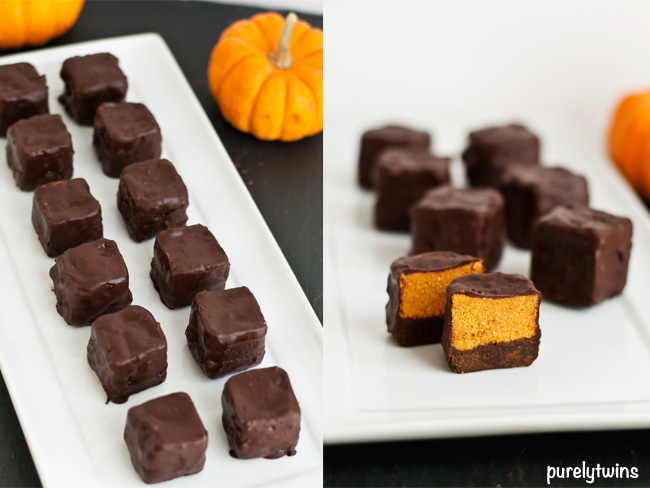 healthy raw halloween pumpkin treats