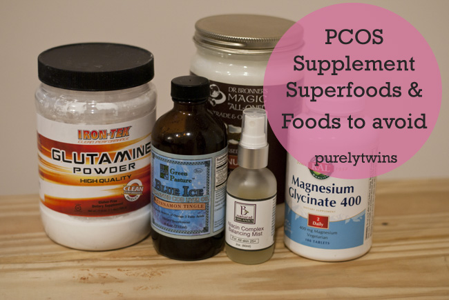 pcos superfoods and foods to avoid tips