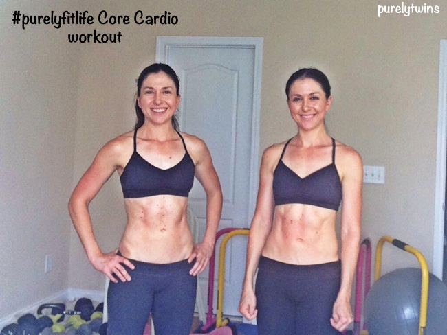 twins core cardio workout