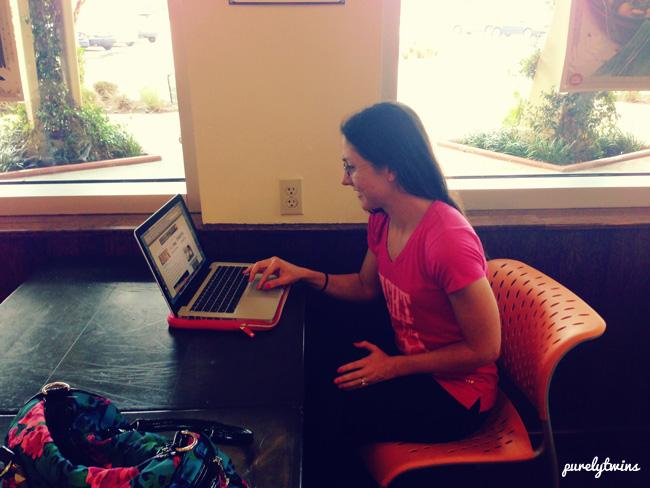 lori blogging