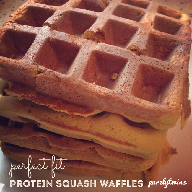 perfect fit protein squash waffles