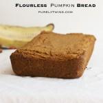 flourless grain-free no sugar pumpkin bread recipe