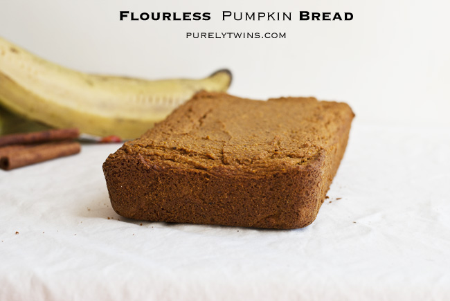 pumpkin bread grain-free