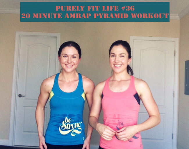 20 minute AMRAP #purelyfitlife workout 36