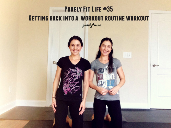 purely fit life get back workout workout