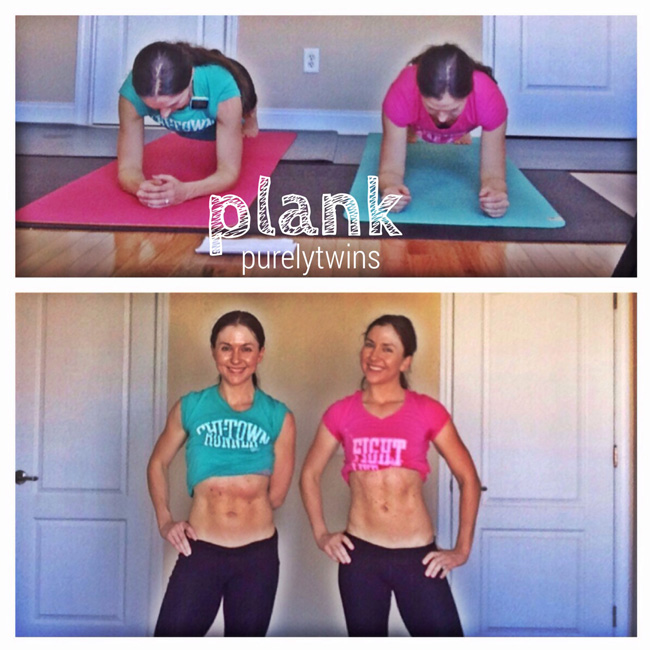 twins plank everday