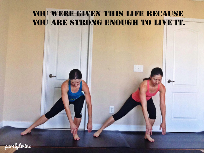 you are strong enough to live this life