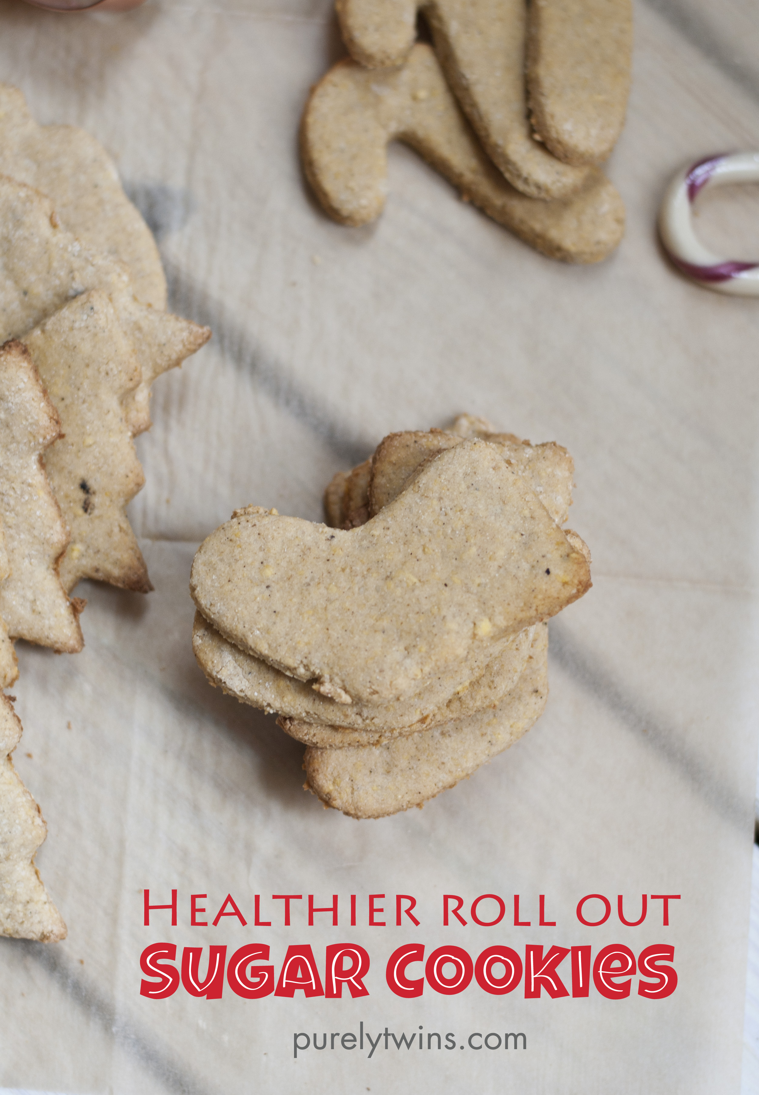 healthier roll out sugar cookies