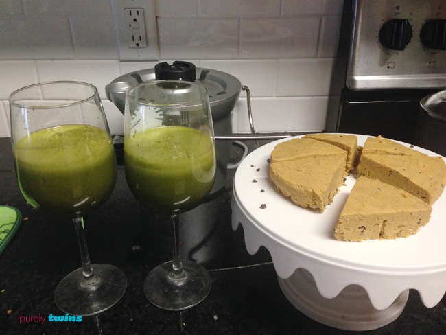 juice and pumpkin fudge