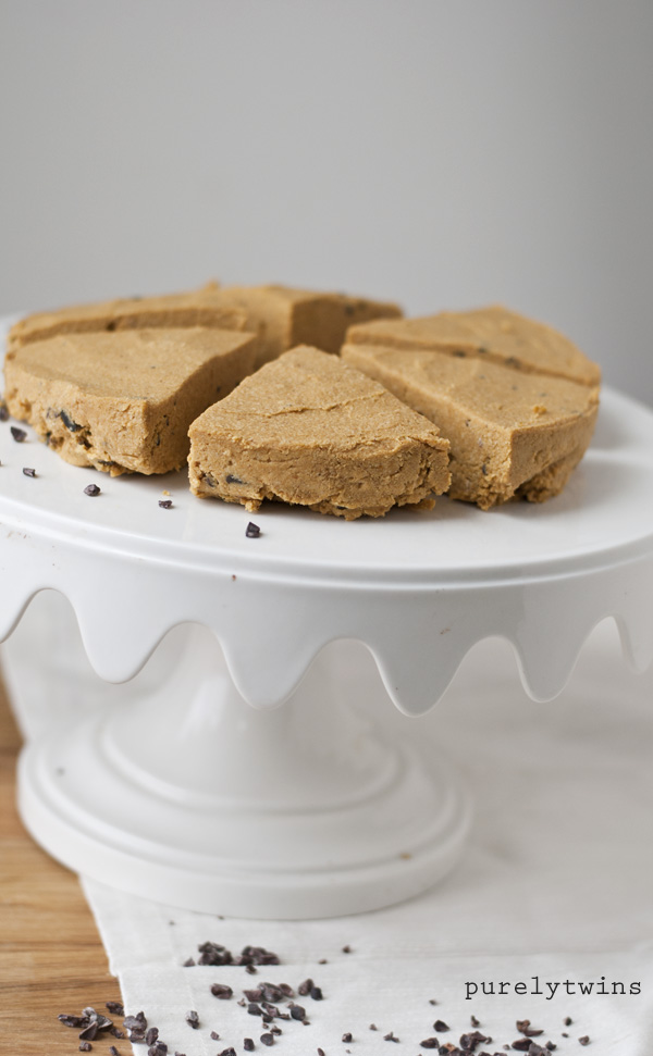 protein healthy fat coconut filled pumpkin fudge