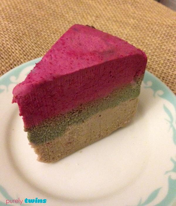 raw peppermint cheesecake cake
