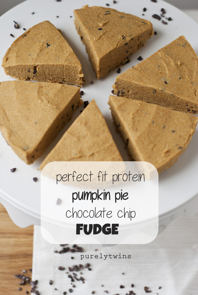 raw vegan chip protein pumpkin fudge
