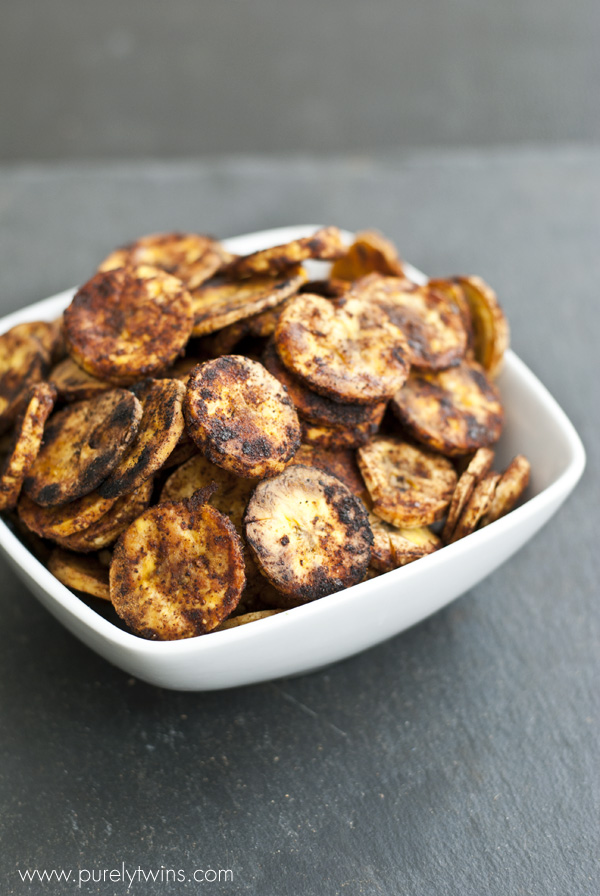 easy bbq plantain chips