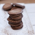Paleo cocoa pancakes. 4 ingredients.