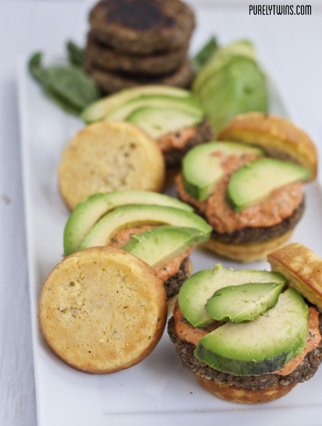 grain free plantain burger bun