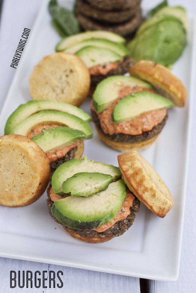 healthy vegetable grain free dairy free burger