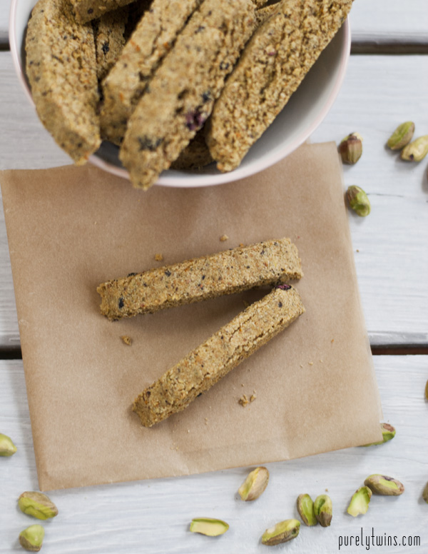 pistachio orange biscotti