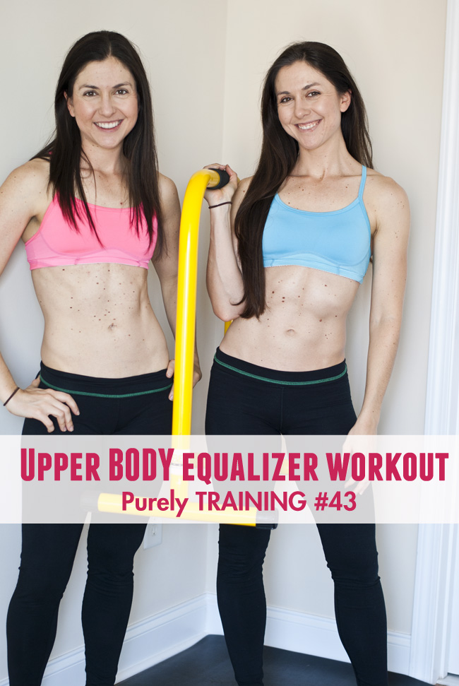 purely training upper body workout