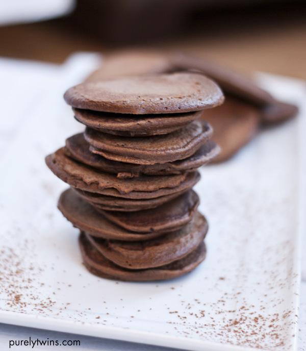 4 ingredient cocoa pancakes