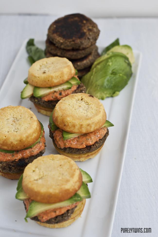 ultimate real food paleo vegan burger