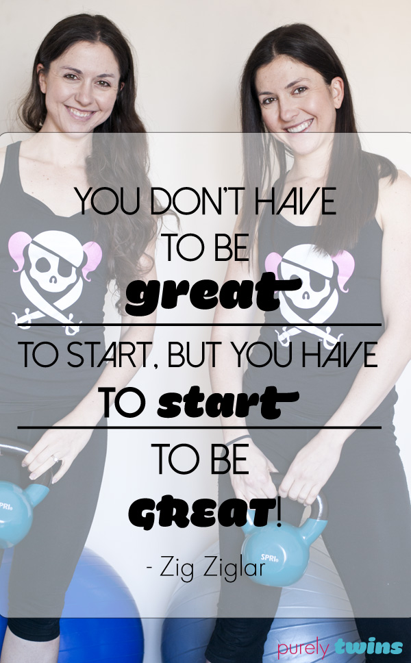 you have to start to be great quote
