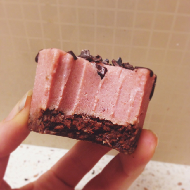 cream cake bite