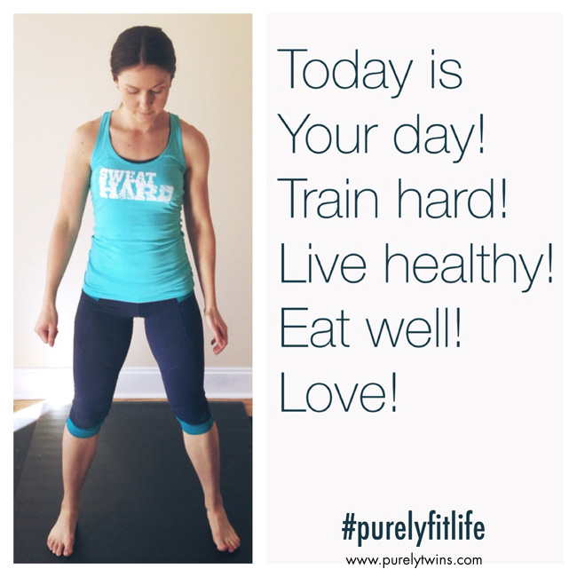 today is your day. train hard