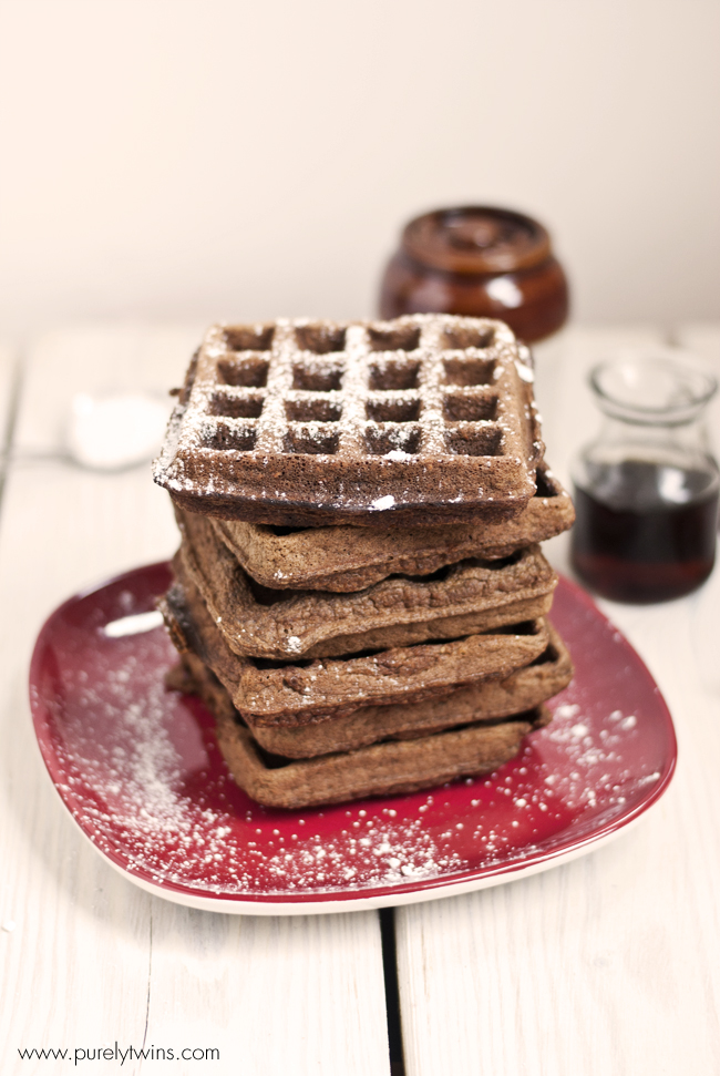 flourless grain free plantain waffles