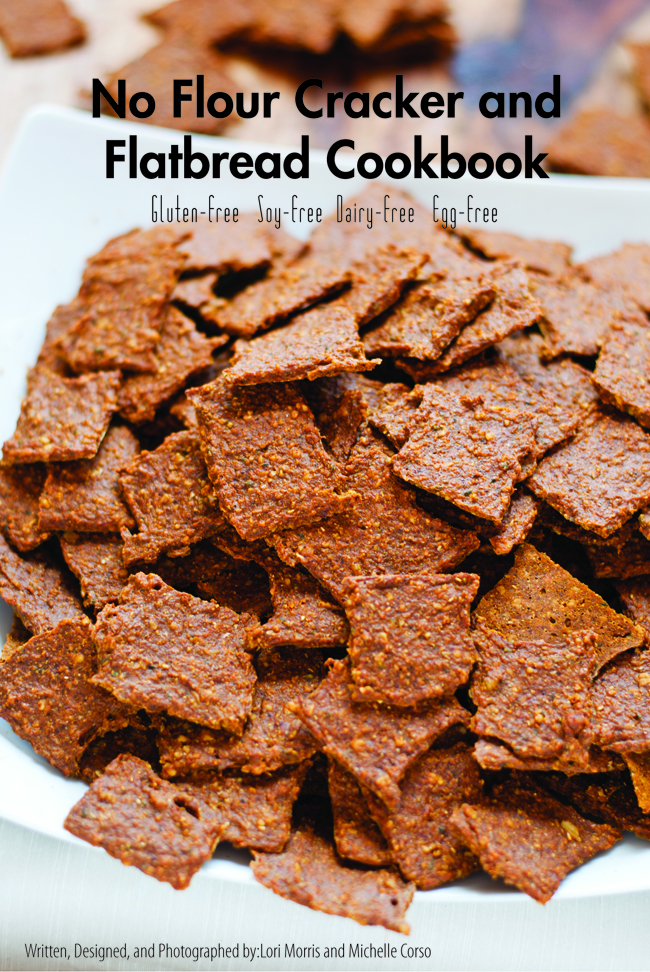 NO Flour cracker cookbook