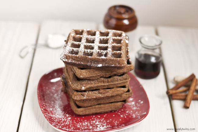 For these gingerbread waffles they are a perfect balance of ginger ...
