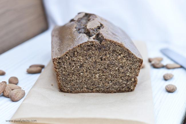 gluten free grain free nut butter bread