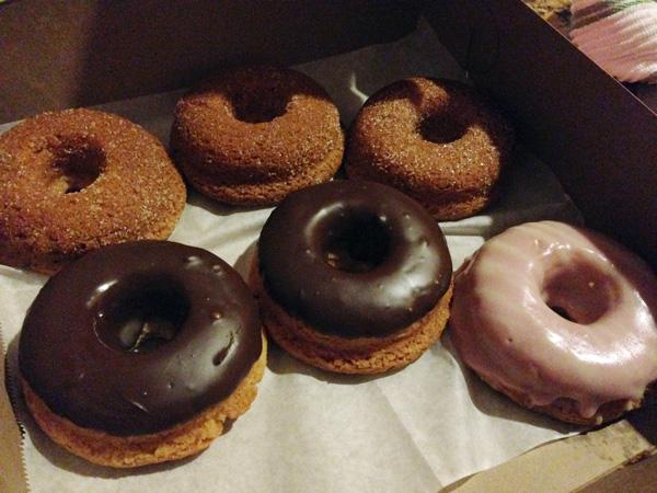 glutenfree vegan donuts