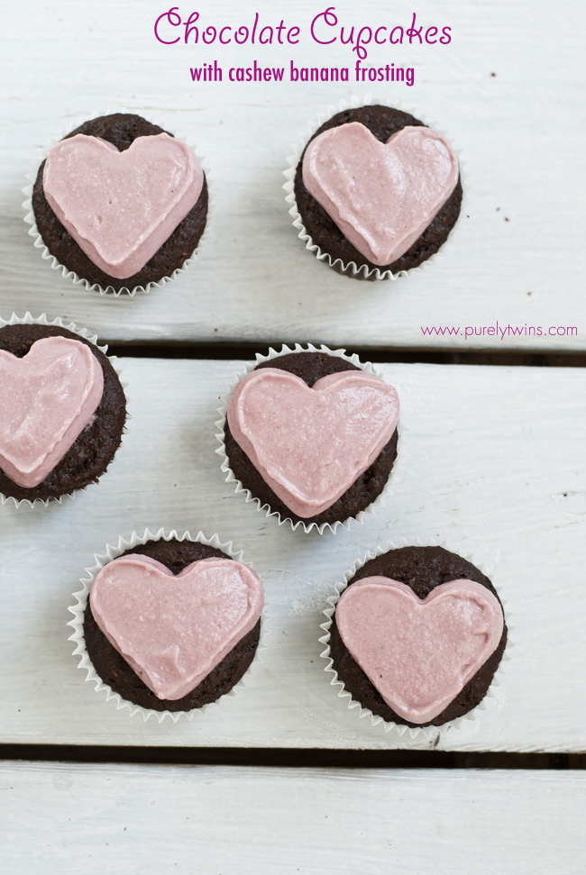 grain free paleo chocolate cupcakes beet cashew frosting purelytwins