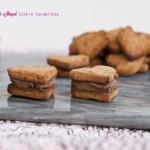 heart shaped coconut flour cookie sandwiches