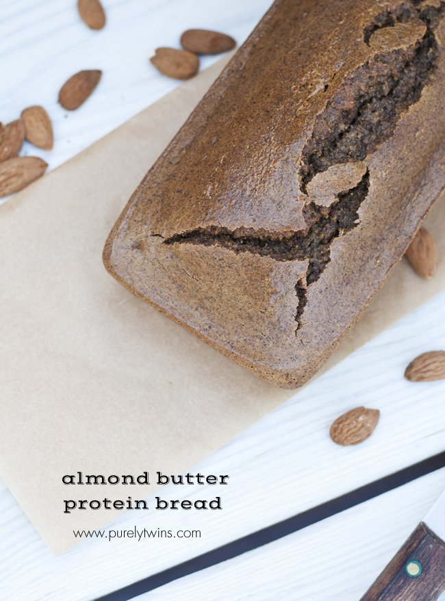 paleo grain free gluten free almond butter nut bread loaf