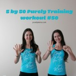 5 by 50 bodyweight purely training workout