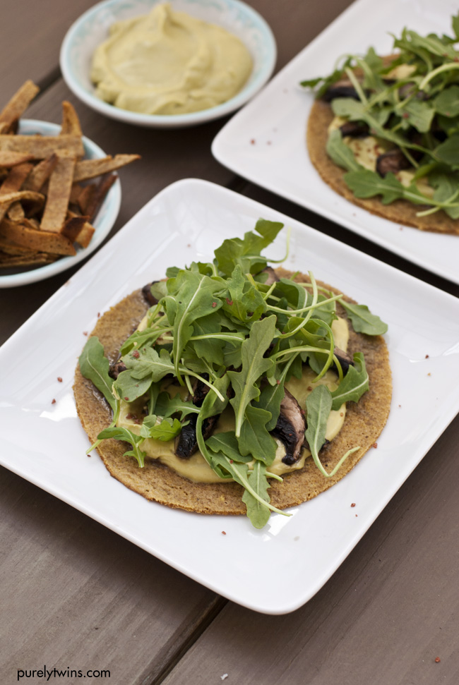 healthy quick grain free plantain tostada purelytwins
