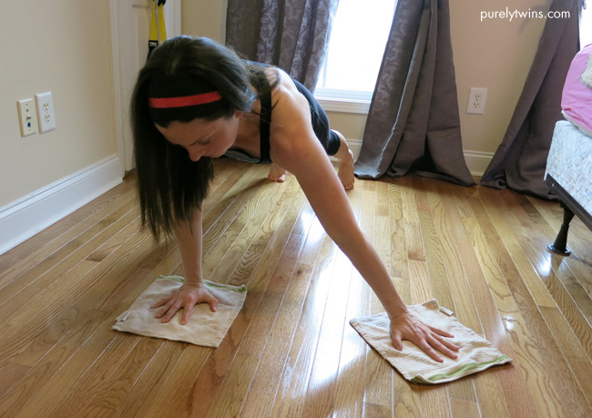 plank bedroom workout