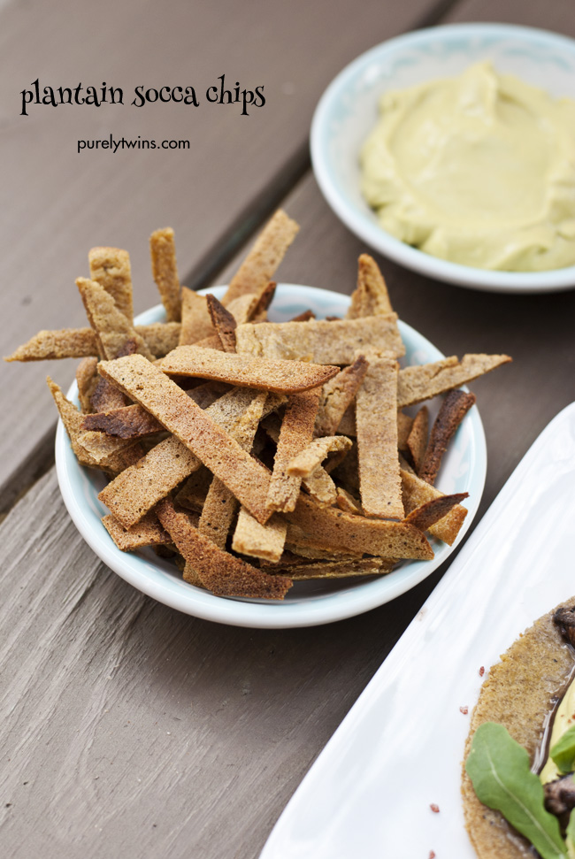 plantain socca grain-free tostada chips purelytwins