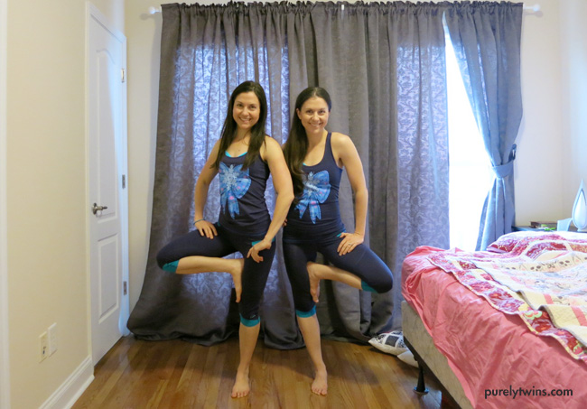 purely twins HIIT bedroom workout