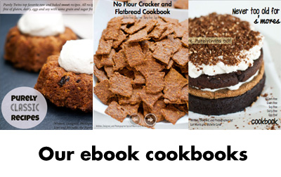 Get your GLUTEN-FREE Cookbooks here