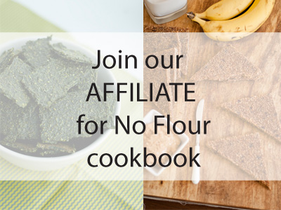 Become an affiliate for No Flour ebook