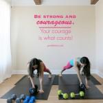 Metabolic burning upper body purely training workout