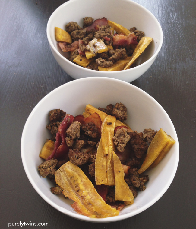 beef bacon plantain dish from paleomg