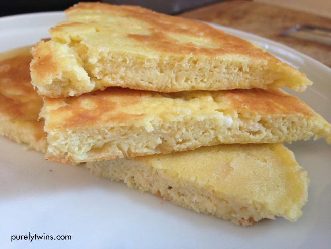 coconut egg pancake