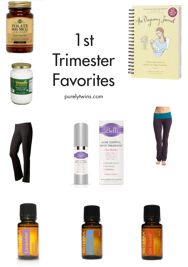 first trimester favorites for first time being pregnant and having skin issues