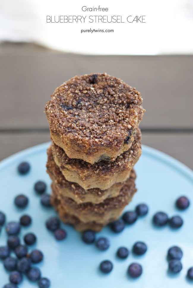 how to make grain-free egg-free blueberry streusel cake the right way