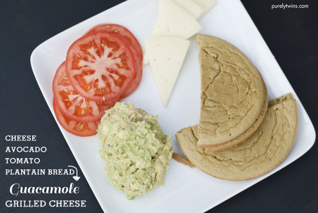 guacamole grilled cheese sandwich ingredients